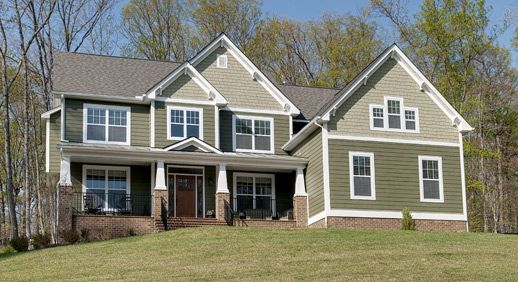 29 best excellent exteriors images on pinterest for Craftsman style homes for sale in maryland