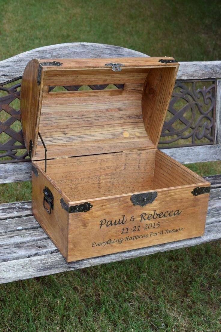 Extra Large Personalized Wedding Card Box