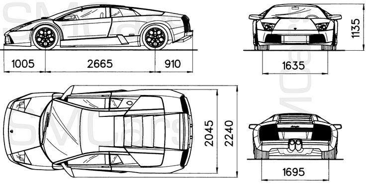 19 best car blueprint images on pinterest