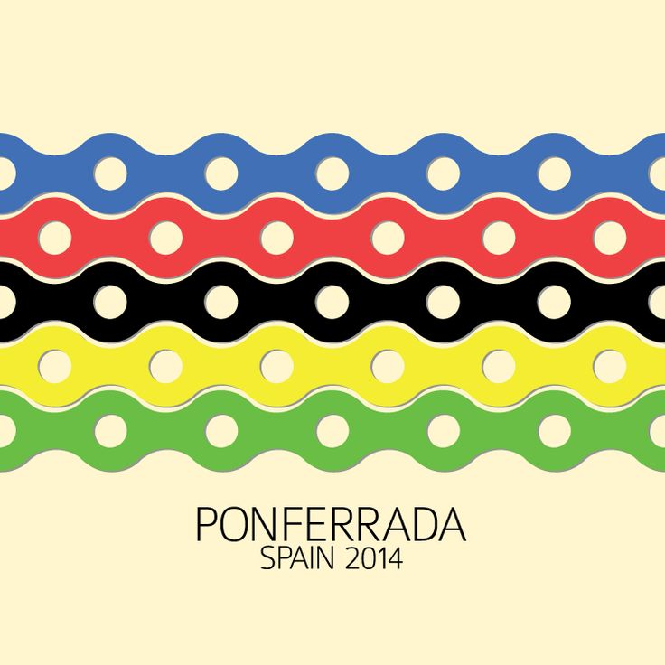 Union Cycliste Internationale, World Championships Ponferrada 2014, poster