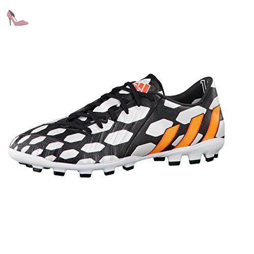 adidas , Chaussures de foot pour homme Blanc blanc-noir, blanc-noir,