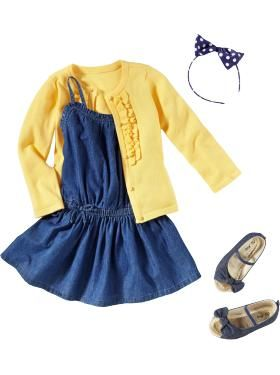 Navy blue dress 4t clothes