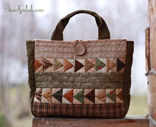 "Flying birds bag / Сумка ""Перелетные птицы"" #bag #handmade #patchwork #сумка"