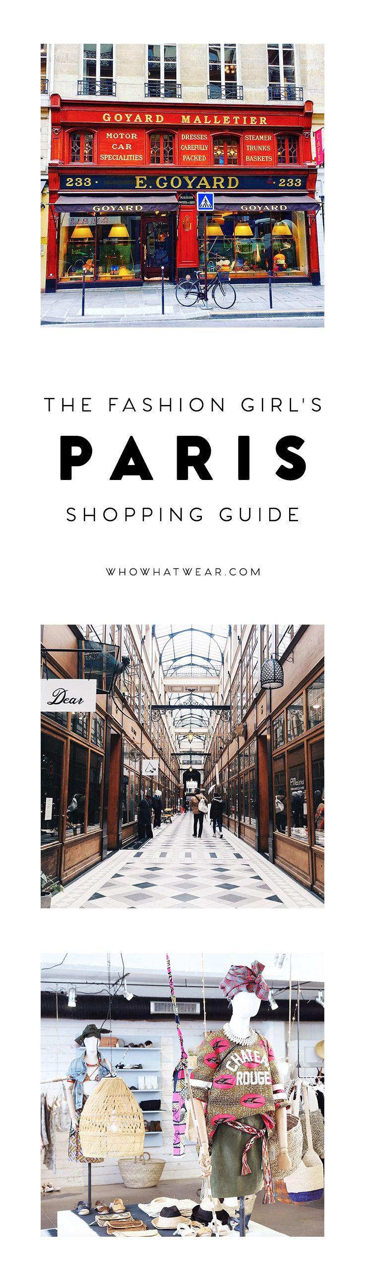 The fashion girl's shopping guide to Paris