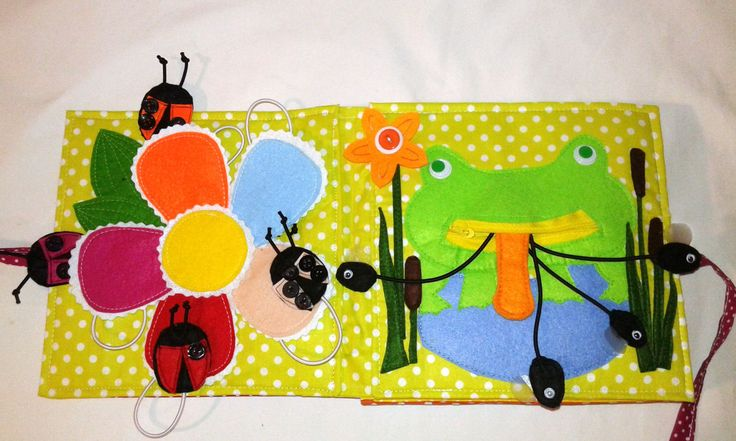 I like animals quiet book, 8 pages handmade and personalized, felt book, busy book, Eco friendly by BabamBabywearing on Etsy