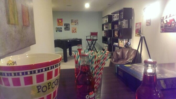 """Finished Basement In The """"Venice"""" At Ryan Homes"""