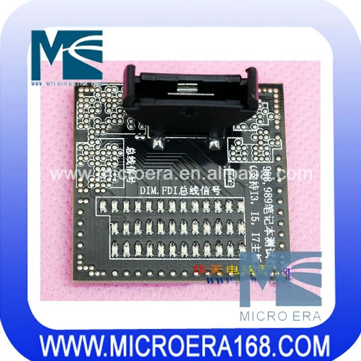 988 989 CPU socket tester support for I3 I5 I7 laptop motherboard $19~$24