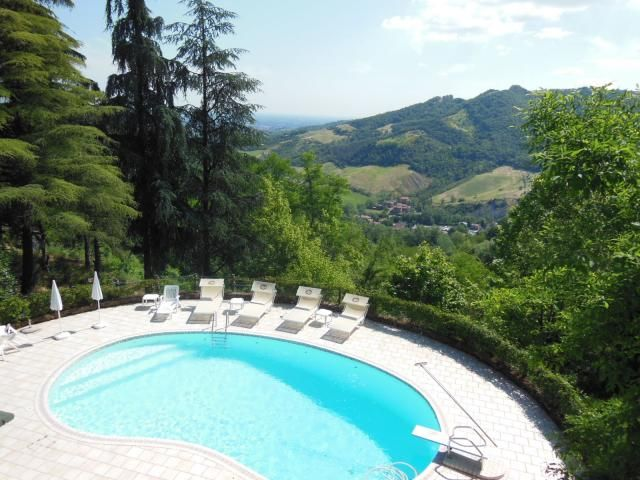 Stunning #swimmingpool with breathtaking #view, surrounded by #hills and #nature