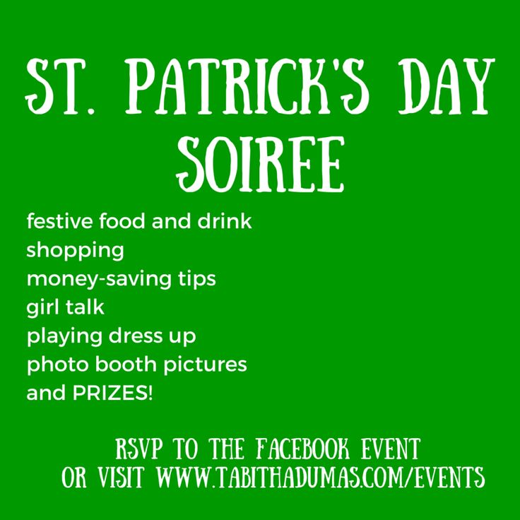 Shopping, networking, playing with color, food and drink...a fun girl's night out! St. Patrick's Day Soiree with TabithaDumas.com