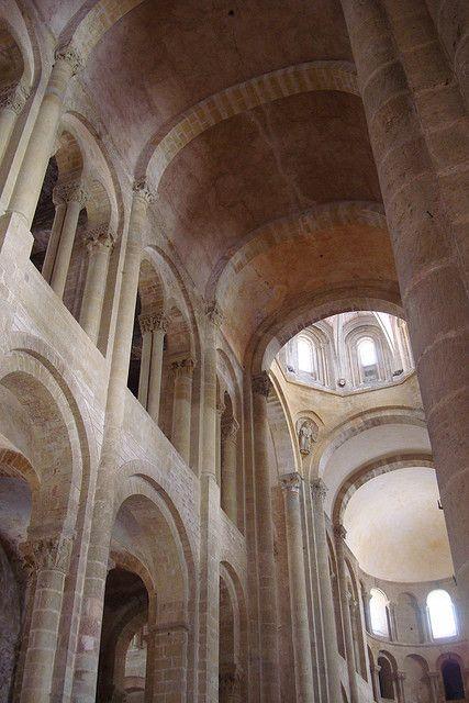 Abbaye de Sainte-Foy, Conques, France #Romanesque architecture