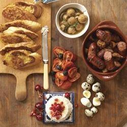 Breakfast tapas/Ontbyt-tapas