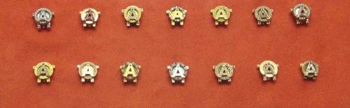 Vintage: Vintage Aoii, Pi Vintage, Vintage Wardrobe, Sorority Sugar, Aoii Badges, Vintage Pins, Alpha Omicron Pi, Photo