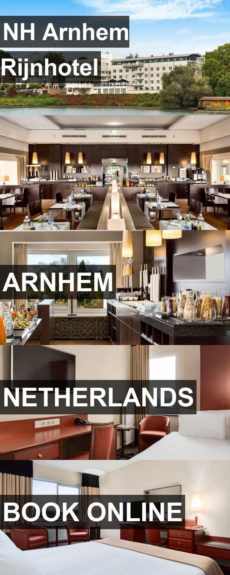 Hotel NH Arnhem Rijnhotel in Arnhem, Netherlands. For more information, photos, reviews and best prices please follow the link. #Netherlands #Arnhem #NHArnhemRijnhotel #hotel #travel #vacation