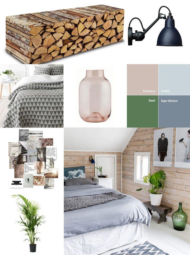 Få stilen - en dus fargepalett med innslag av naturen: http://www.rom123.no/f%C3%A5-stilen/ro-i-sjelen-pa-soverommet/