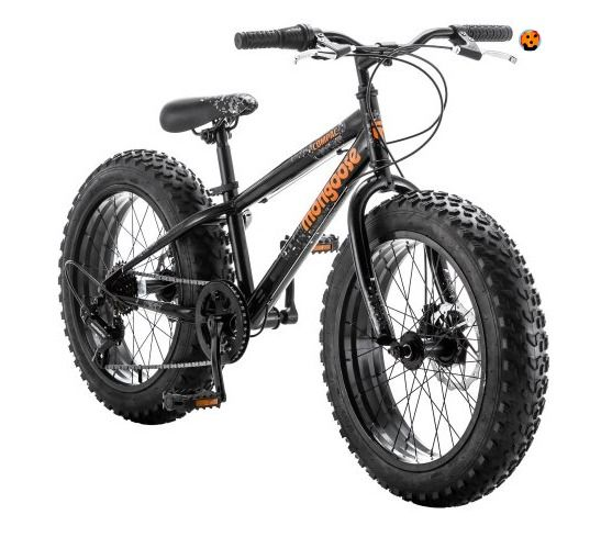 KIDS BIKES Boys Mongoose 20 inch Fat Tire  7-Speed  Black RIDING TOYS FREE SHIP #Mongoose