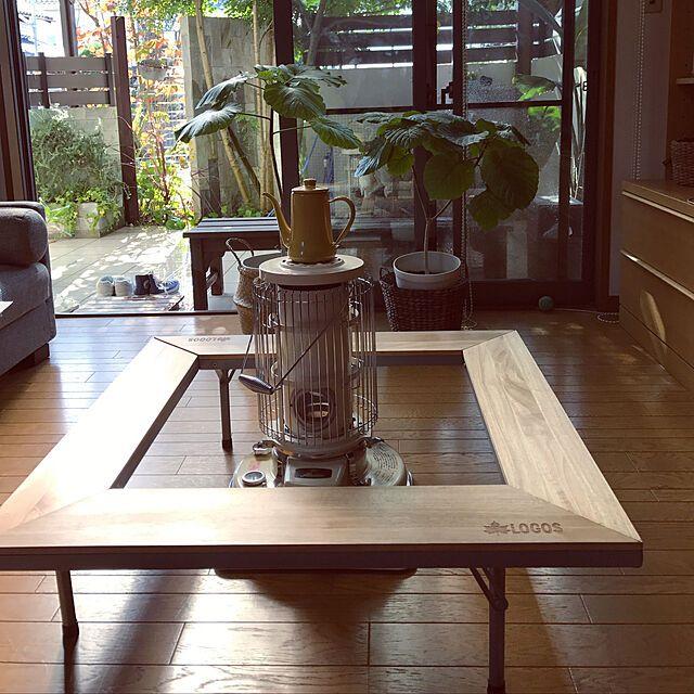 ロゴス Logos テーブル ウッド囲炉裏テーブル Evo 木製 ピラミッドグリル対応 キャリーバッグ付き このアイテムを使った投稿2枚 Roomclip Item 囲炉裏テーブル 囲炉裏 リビング インテリア 1ldk