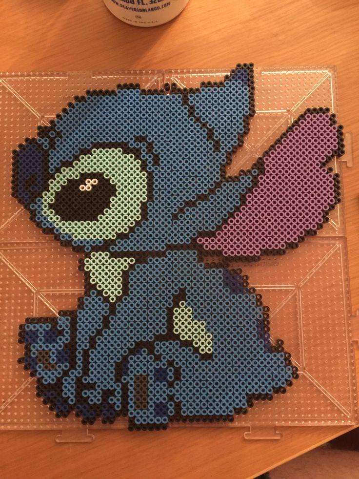 Stitch (Lilo & Stitch) perler beads by EquipItem