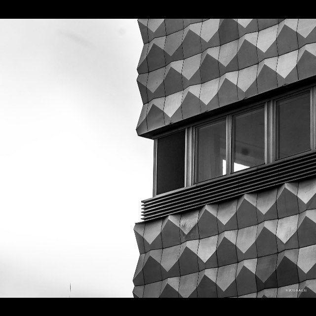 """socheritage: """" Centrum Warenhaus, Lausitzer Platz, Bautzner Allee, Hoyerswerda-Neustadt, Germany, built in 1965-69. Aluminum elements were designed by Harry Müller. """""""