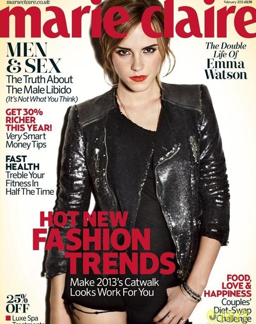 Marie Claire UK - Emma Watson