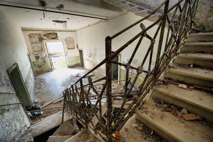 L'ospedale abbandonato nell'isola di Poveglia, Venezia