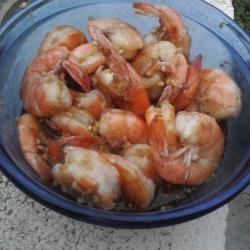 Steamed garlic prawns @ allrecipes.com.au