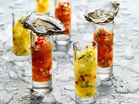 Gazpacho med ostron ricetta antipasti il pesce for Cucinare jalapenos