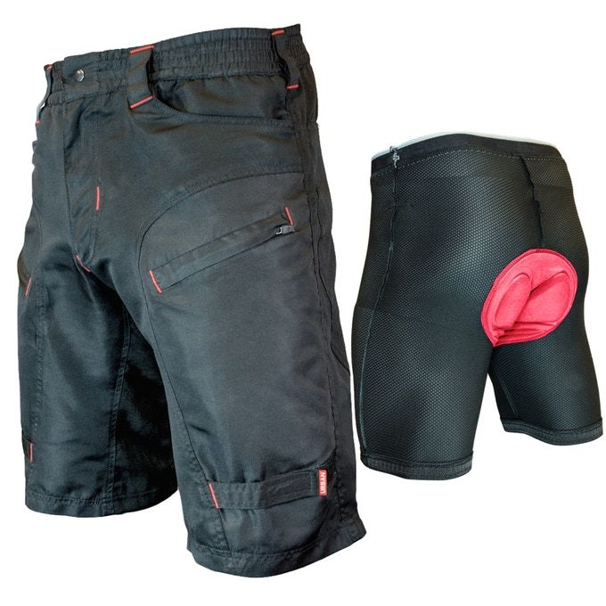 THE SINGLE TRACKER  PREMIUM MOUNTAIN BIKE SHORTS  WHAT MAKES THE SINGLE TRACKER DIFFERENT:  ✔ DEEP, SECURE ZIPPED POCKETS   ✔ SEAMLESS UNDER PANEL   ✔ WATER RESISTANT, RUGGED CORDURA® FABRIC   ✔ G-TEX PADDED UNDERSHORTS INCLUDED