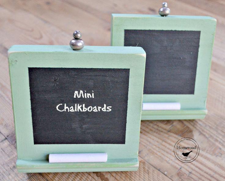 Homeroad-Mini Chalkboards With Free Wood!