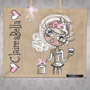 ClaireaBella Mother's Day Jute Bag
