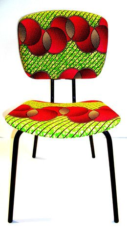 Six Bougies: AfricaStyle: African Textiles + Furniture = Shockingly Awesome