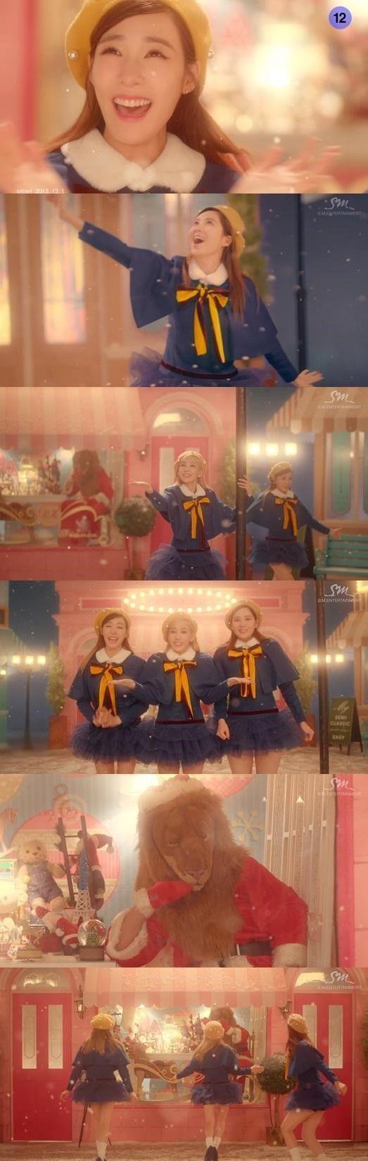 少女時代 テティソ「Dear Santa」MV予告映像第2弾を公開…「Lion Heart」のライオンが登場 - K-POP - 韓流・韓国芸能ニュースはKstyle