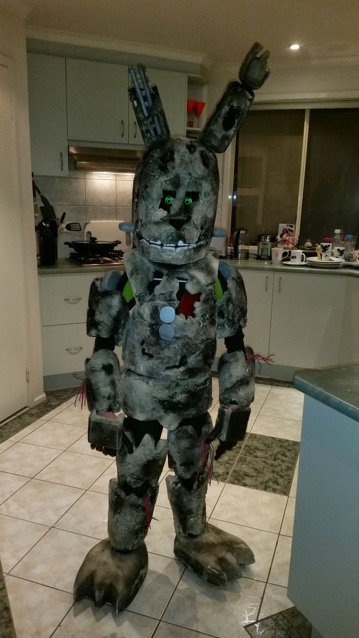 Fnaf bonnie costume for sale - Springtrap Fnaf Cosplay For Halloween 2015 By Capncomic Deviantart Com On Deviantart