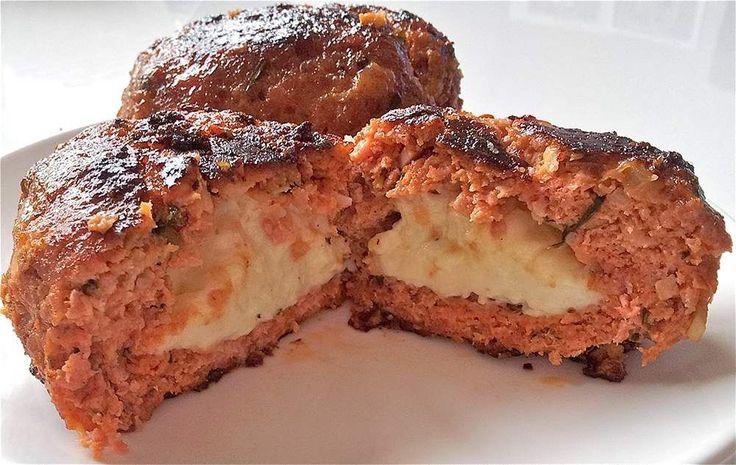 Deze Italiaanse gehaktballen zijn werkelijk onovertroffen, heerlijk met gesmolten mozzarella van binnen!