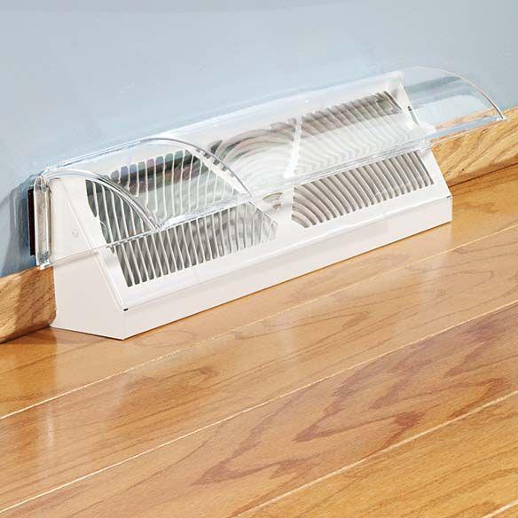 floor vent deflector | baseboard