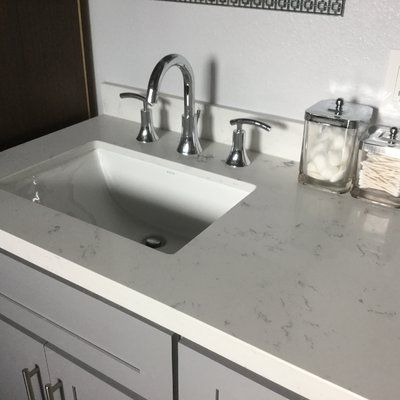 the decolav classic rectangular undermount bathroom sink with overflow sports a simple and minimalistic design that is contemporary and modern