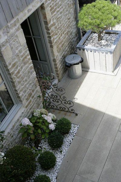 Les 25 meilleures idées de la catégorie Terrasse jardin sur Pinterest