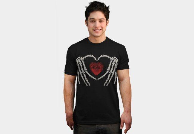 Dead Lover Heart T-Shirt - Design By Humans