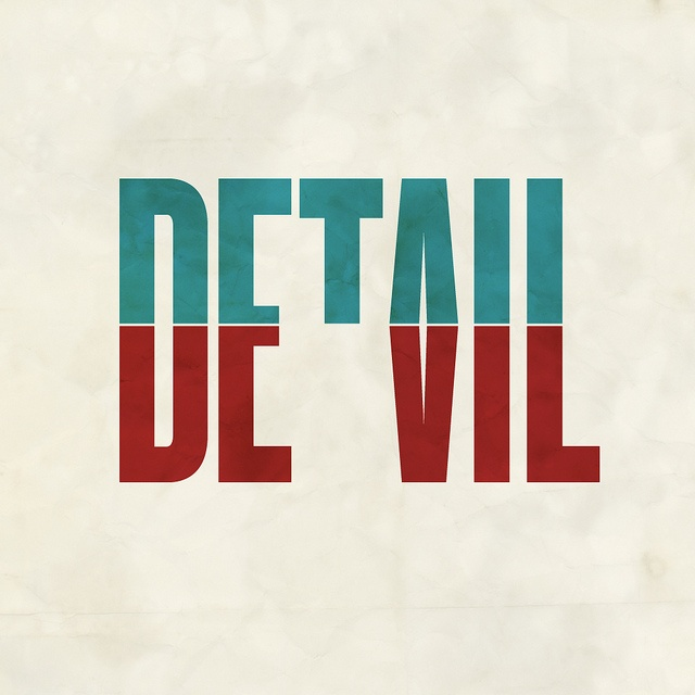 Devil in the detail.(revised) by cooeedesign, via Flickr