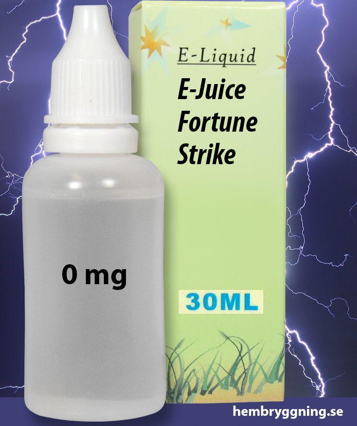 E-Juice Fortune Strike 30 ml. 0 mg.