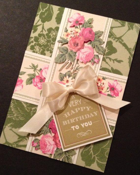 Card Making Embellishment Ideas Part - 19: Anna Griffin Cards, Birthday Cards, Card Making, Embellishments, Card Ideas,  Birthdays, Clever, Bouquet, Greeting Cards For Birthday