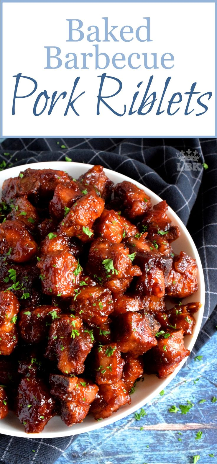 Baked Barbecue Pork Riblets – Perfectly baked, these fork-tender, fall-off-the-b…