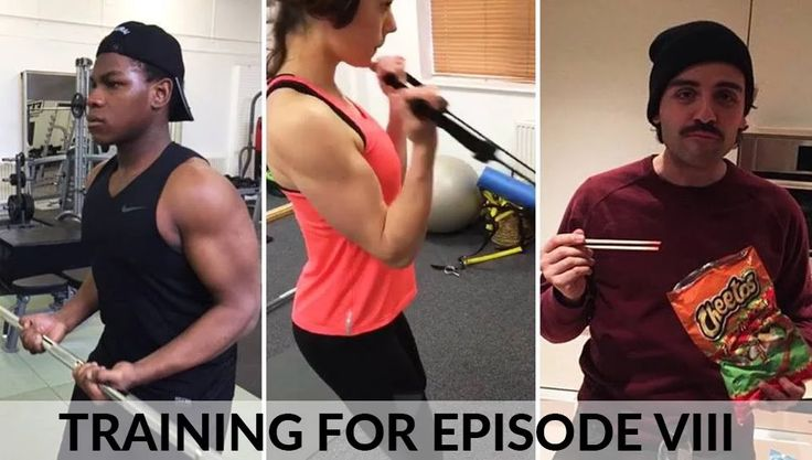 Photo: Training For Episode VIII  It sure looks intense! John Boyega (Finn), Daisy Ridley (Rey) and Oscar Isaac (Poe Dameron) get ready for the next film.  (Meme by RM4)  #StarWars #EpisodeVIII #Training