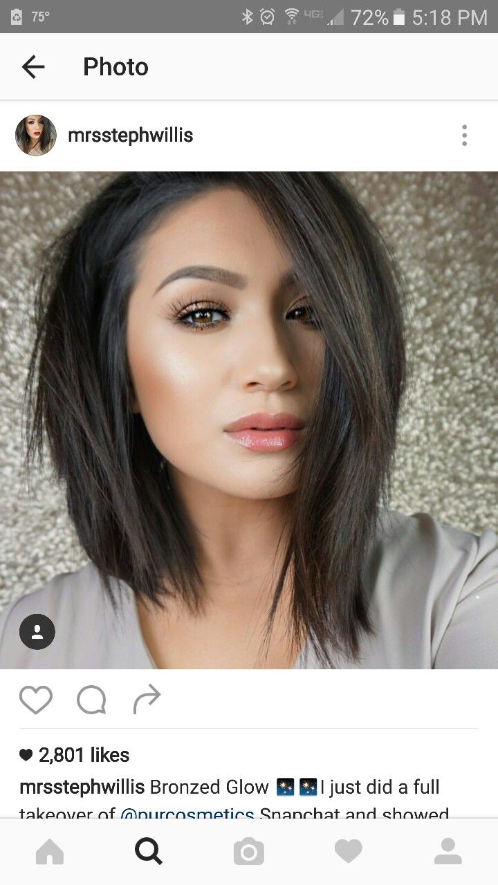 Enjoyable 17 Best Images About Long Bob Hairstyles On Pinterest Bobs Short Hairstyles Gunalazisus
