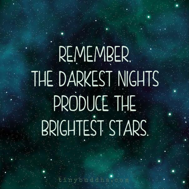 The darkest nights