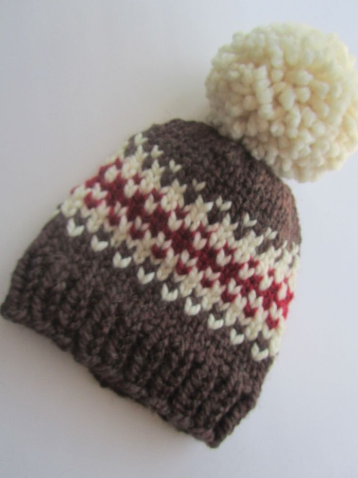 87 best Knit Hats images on Pinterest | Chunky knits, Photo boxes ...
