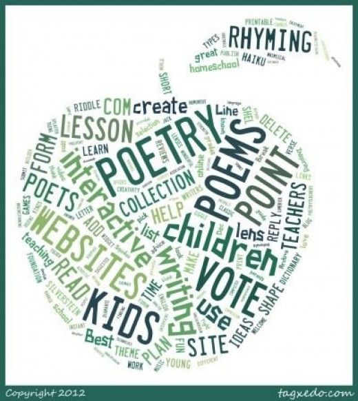 12 poetry websites for kids - interactives and collections