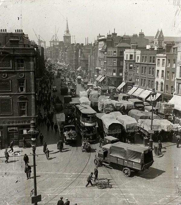 Whitechapel Hay Market c.1920 | The Markets Of Old London | Spitalfields Life