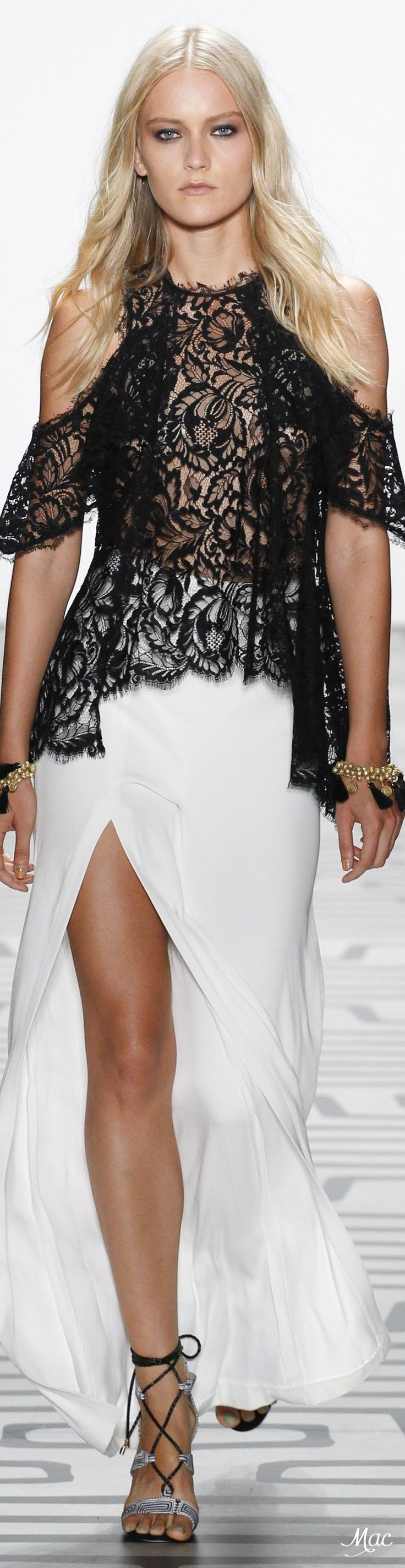 *.* Spring 2017 Ready-to-Wear Nicole Miller - black & white