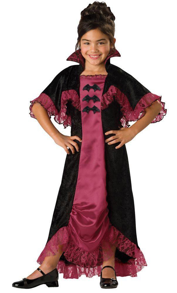 girls midnight vampiress kids costume kids vampire costumes mr costumes