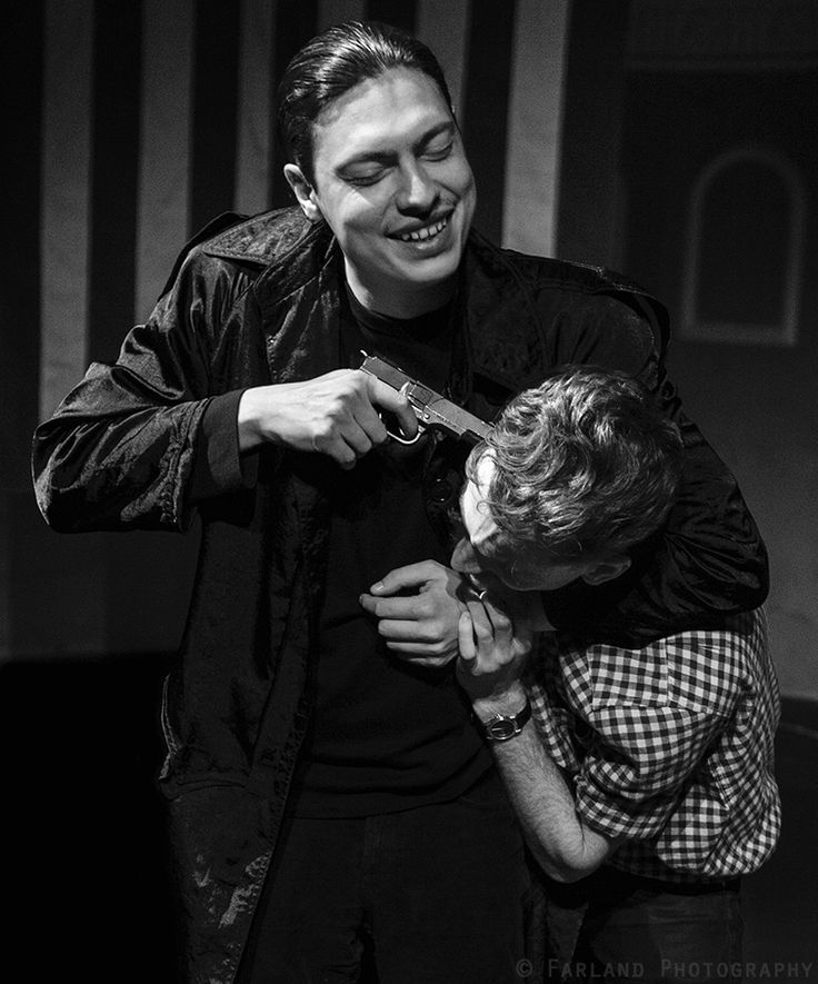 James and Alexey at the Eternity Playhouse. By Farland Photography.